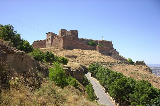Templar fortress of Monzon; head house of the province of Aragon; photo: Llibredelsfeyts