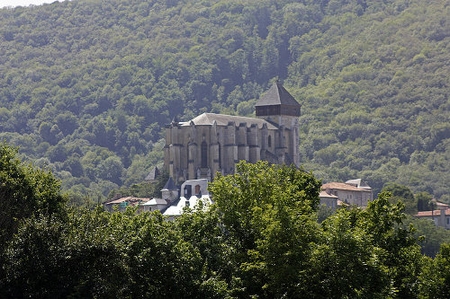 Saint Mary Cathedral; St-Bertrand-de-Comminges; photo D Villafruela;Creative Commons Attribution-Share Alike 1.0 Generic