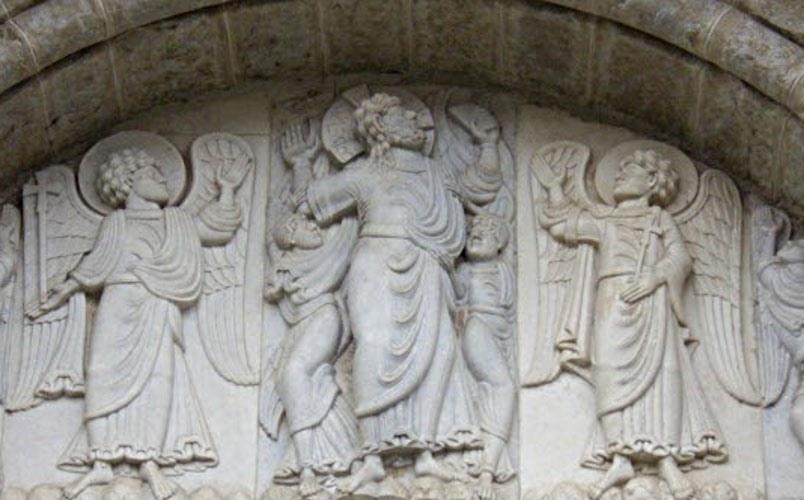 Ascension of Christ; St Sernin; Toulouse; photo JP Schmit