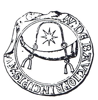 seal of Guillaume III de Baux; 1256; departemental archives; Bouches-du-Rhône; B 352